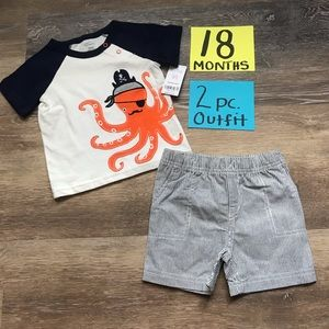 Carter's Matching Sets - NWT Carter's 2 pc 18 Month Matching Outfit